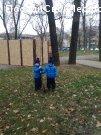 Наша первая липка в парке Ленина